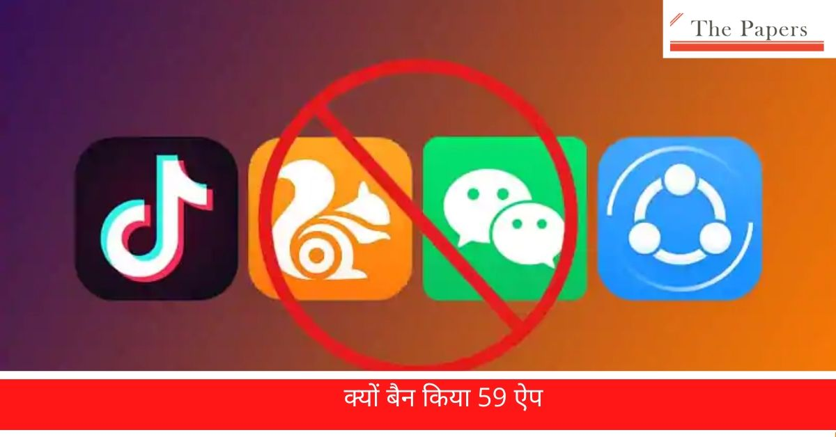 Apps banned In india